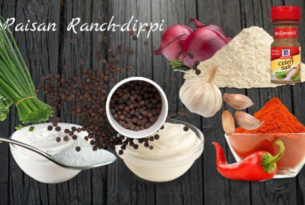 WS Reseptit - Raisan Ranch-dippi
