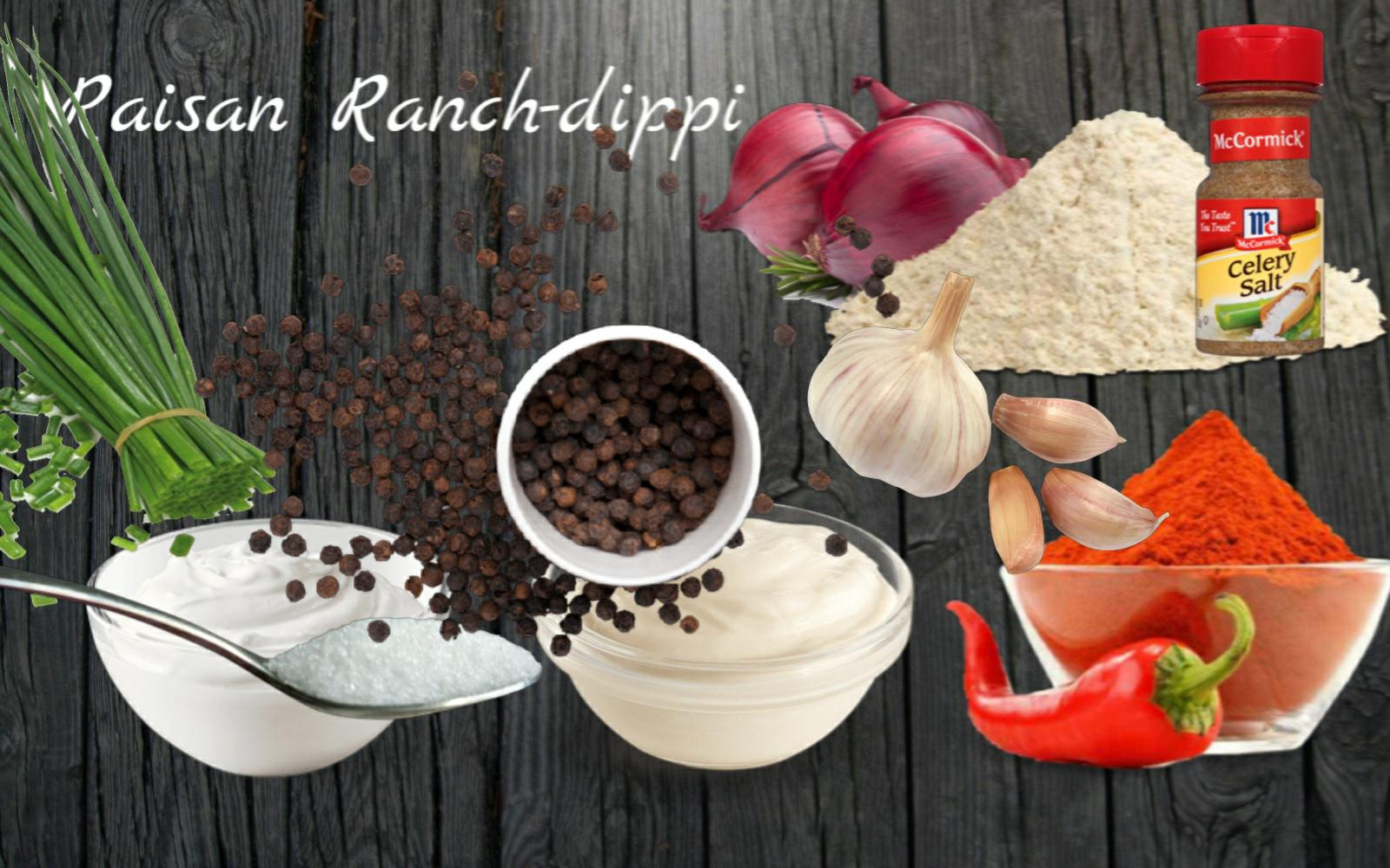 WS Snacks reseptit: Kokeile itse – Raisan Ranch-dippi!