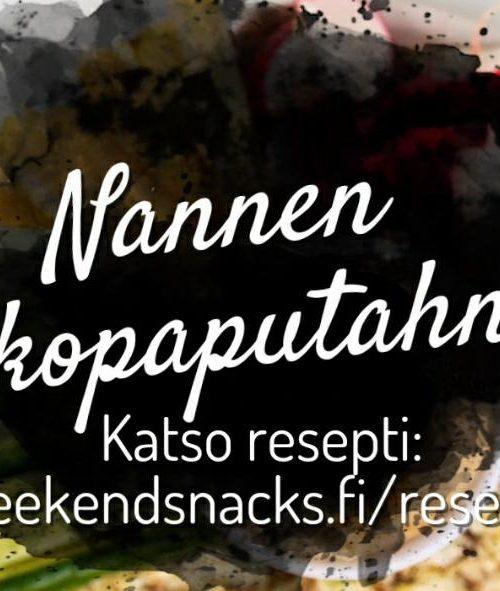 Weekend Snacks reseptit