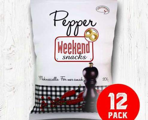 Weekend Snacks Retro-pippurirenkaat tekevät paluun